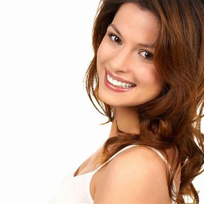 Smiling Woman Pretty Dental Resolutions