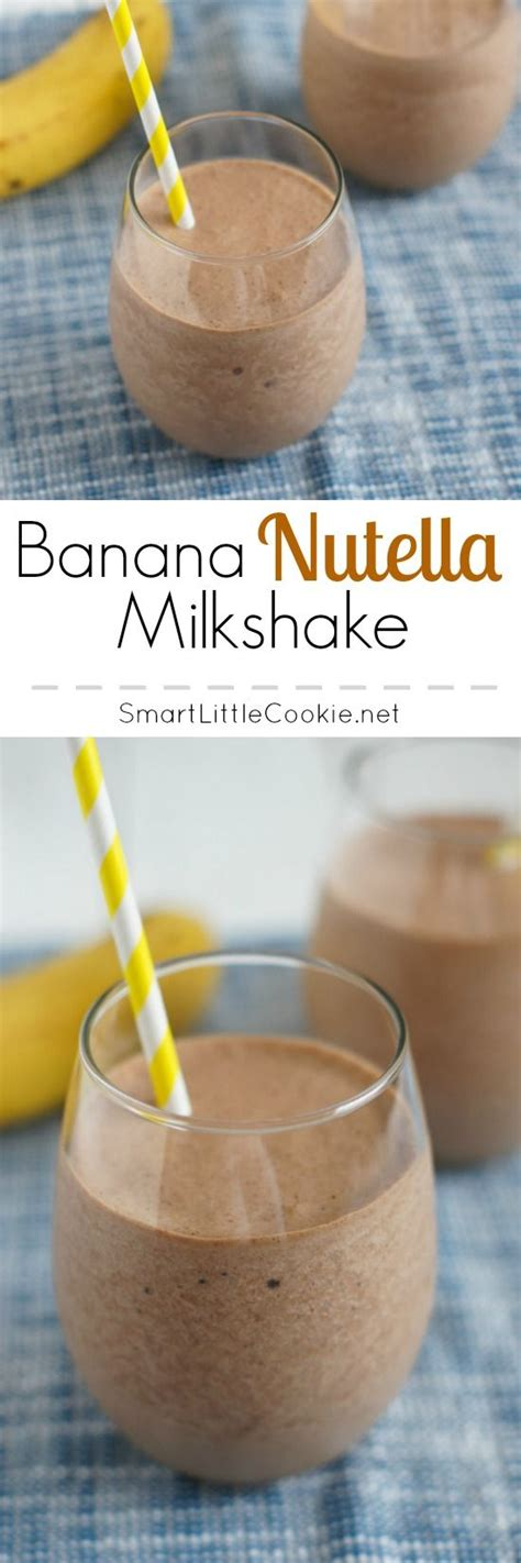 25+ Best Ideas About Nutella Smoothie On Pinterest