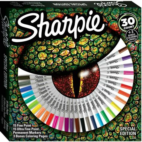 sharpie permanent markers pens special ed 30 fine ultra