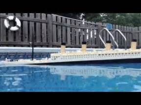 titanic sinking model how to save money and do it yourself