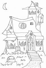 Mansion Haunted Coloring Pages Disney Printable Getcolorings Getdrawings sketch template