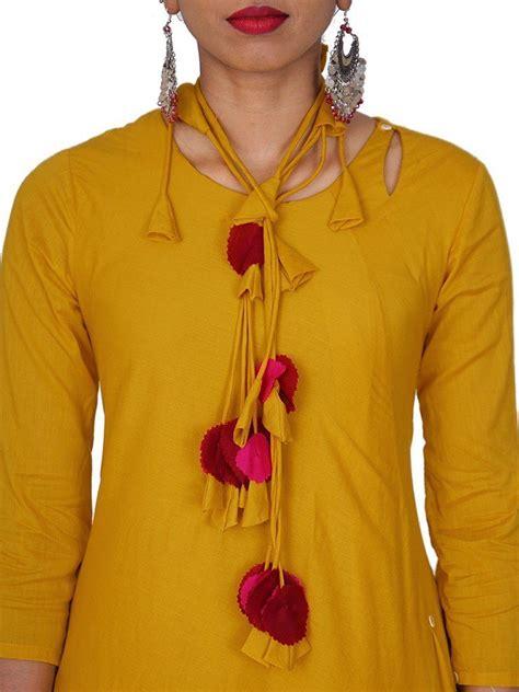 stylish  trendy kurti neck designs  girls