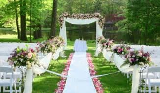 outside wedding venues garden wedding trends wedding planning