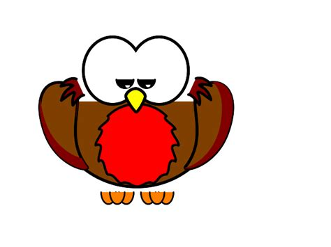 Set Of Cartoon Christmas Birds Stock Vector