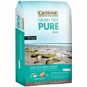 canidae grain free puresea dog food 24 lb With candide dog food