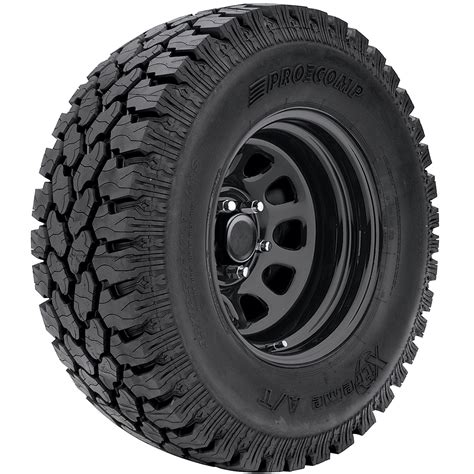 pro comp xtreme all terrain radial tire 51 series steel wheel qty 5 for 07 12 jeep vehicles
