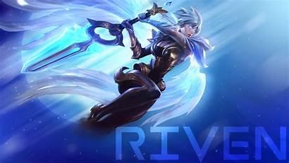 Riven Dawnbringer Lol Fan Wallpapers Legends League
