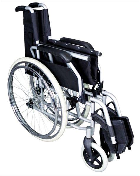 fauteuil roulant manuel pliant avec dossier fixe albatros gris herdegen fauteuils roulants