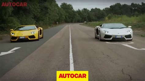 lamborghini centenario roadster vs aventador lamborghini aventador roadster vs aventador coupe full length challenge video youtube