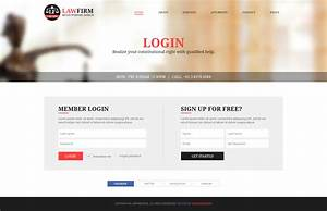 law firm multi purpose psd template by designingmedia With themeforest login template