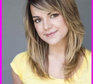 Haircuts for medium length hair with layers and bangs ...