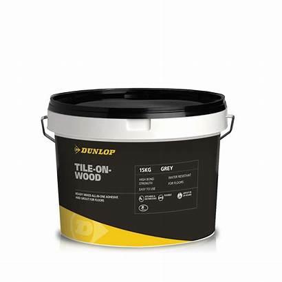 Tile Wood Dunlop Adhesives Adhesive Bond Mixed