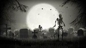 Graveyard Loop, 3d Animation Walktrough. Stock Footage ...