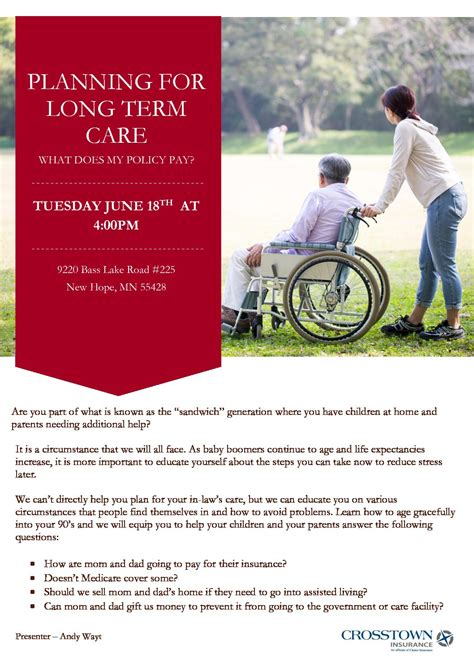 planning  long term care    policy pay