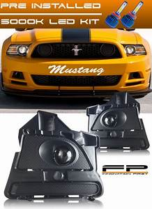2013 14 Ford Mustang V6 Gt Boss 302 Clear Projector Fog
