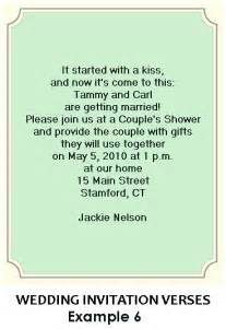 wedding shower invitation wording bridal shower invitation wording exles