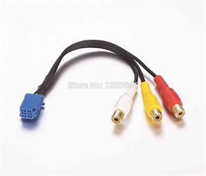 Rca Female Audio Video Input Cable For Toyota Headunit