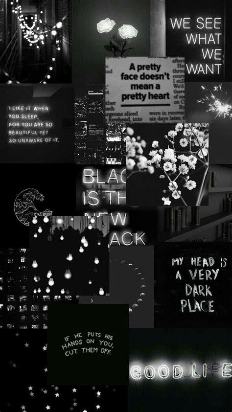 black wallpaper aesthetic wallpaper iphone hitam