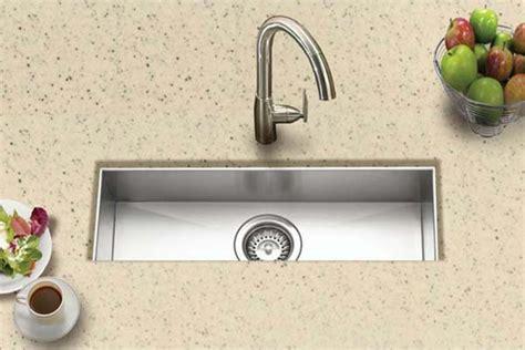 small kitchen prep sinks houzer stainless steel zero small radius kitchen sinks 5494
