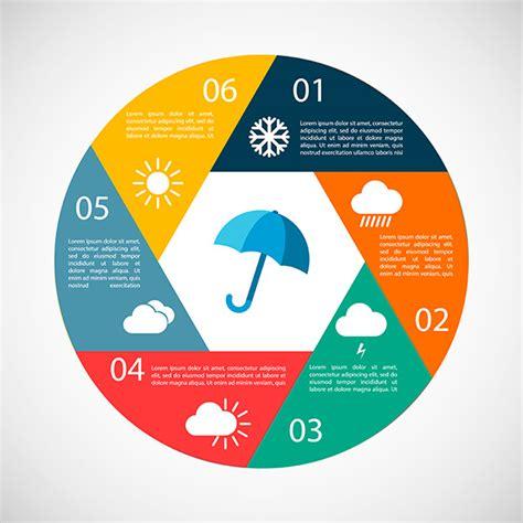 weather infographics graphics  creative market