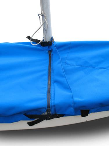 Sunfish Boat Cover by Sunfish 174 Sailboat Mooring Cover Boat Mast Up Flat Top