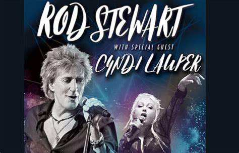 Rod Stewart with Cyndi Lauper | 95.7FM WZID