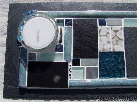 Tischdeko Türkis Grau by Tischdeko Mosaik In T 252 Rkis Und Grau Meriseimorion
