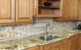 kitchen backsplash medallion travertine backsplash for kitchen designs backsplash
