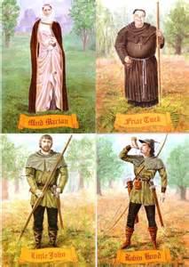 Little John Robin Hood Friar Tuck