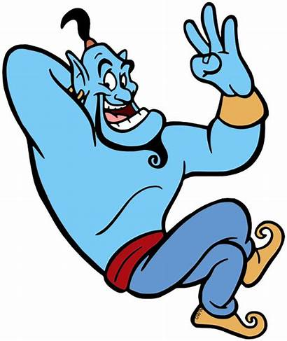 Aladdin Clipart Genie Clip Float Parade Disney