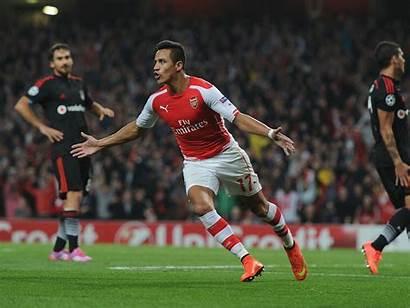 Sanchez Alexis Arsenal Cool Handsome Goal Background