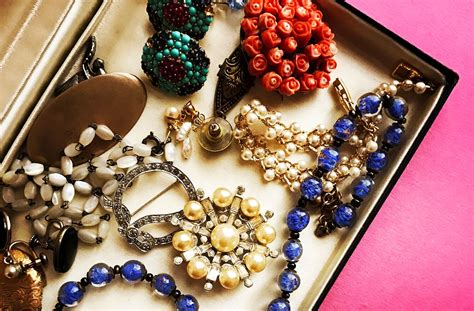 vintage costume jewelry   decades