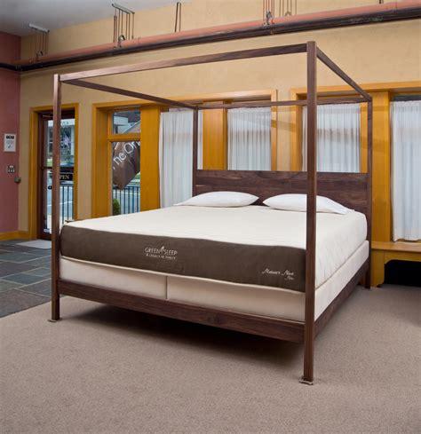 wood beds wood bed frames  organic mattress store