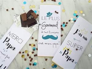 Idée Cadeau Papa 50 Ans : idee de cadeau fait maison 7 printable pour la f234te des p232res du chocolat pour papa ~ Teatrodelosmanantiales.com Idées de Décoration