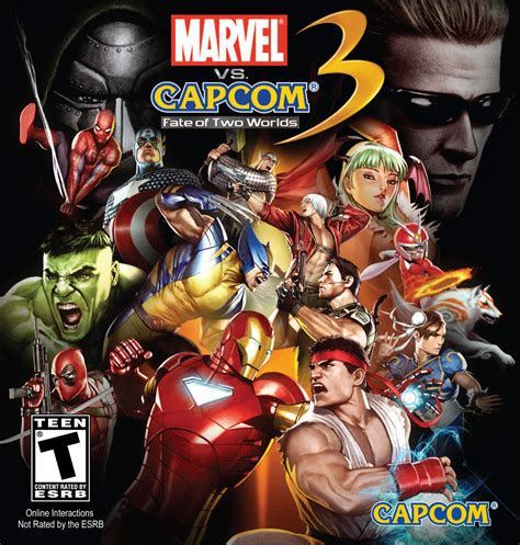 Marvel Vs Capcom 3 Fate Of Two Worlds Street Fighter