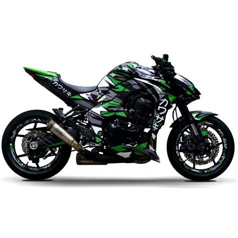 Kawasaki Z900 Image by Motorradaufkleber Bikedekore Wheelskinzz Kawasaki