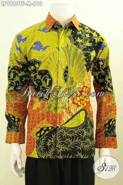 model jahitan baju batik pria terbaru toko batik