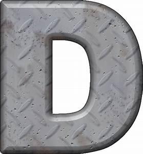 presentation alphabets diamond plate letter d With diamond plate letters