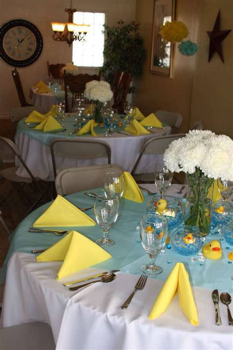 ducky baby shower decorations rubber ducks baby shower ideas photo 4 of 22