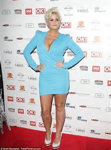 Kerry Katona Embraces The 80 39 S With Jutting Shoulder Pads