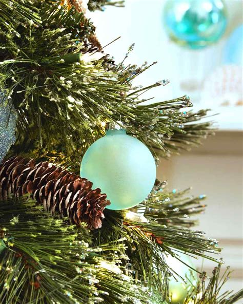 sea glass ornaments martha stewart