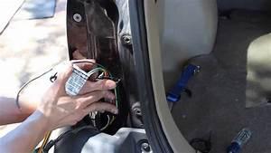 Installing A Curt  56075 Trailer Wiring Kit