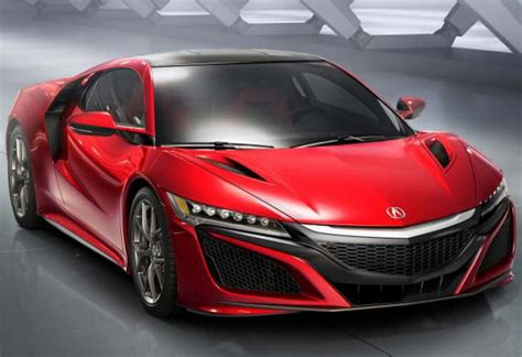 2016 acura nsx pre order books expected to be high