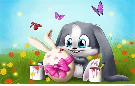happy easter bunny wallpapers  quotes