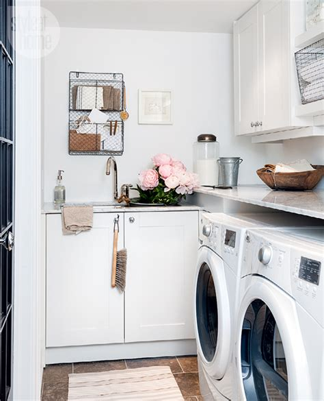 small space basement laundry room style  home
