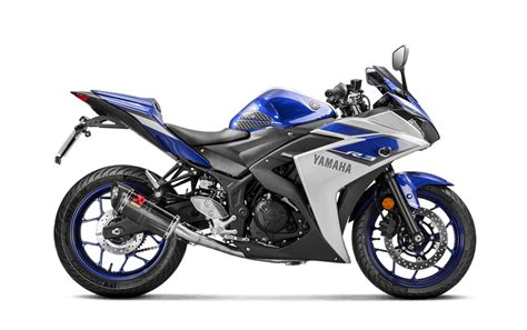 Yamaha Yzf R3 2016 16 Escape Completo Akrapovic Carbono S