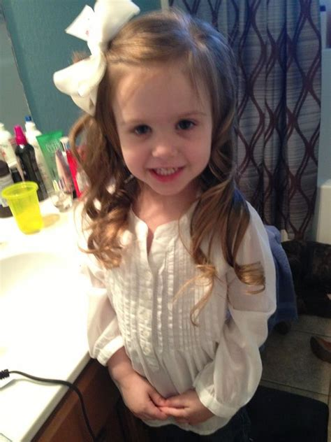 toddler hairstyles curled hair long beautiful stylish
