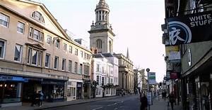 High Street In Oxford  United Kingdom