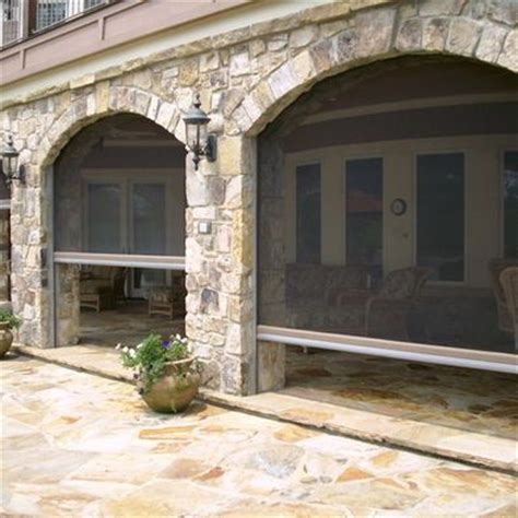 retractable screens patios and screens on