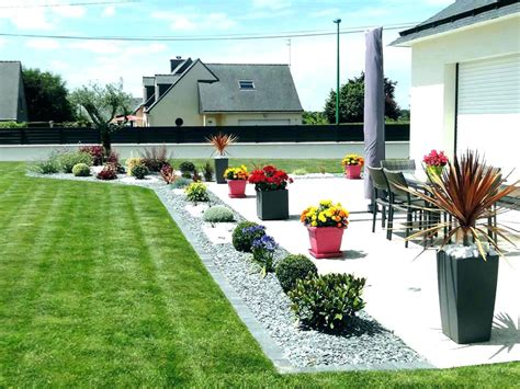 amacnagement jardin terrasse idee deco jardin exterieur